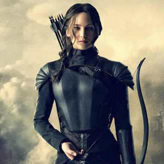 Katniss Everdeen from Hunger Games