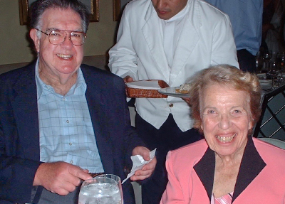 Arnold Miller, shown with his wife Beverly